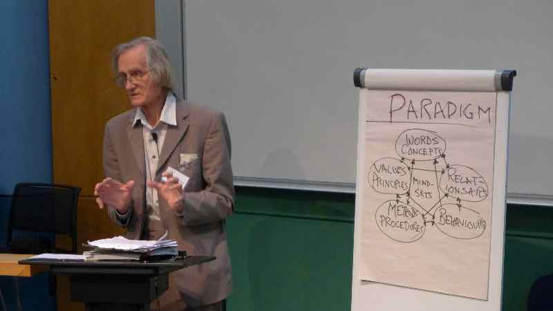 Robert Chambers at the Centre for Global Equality